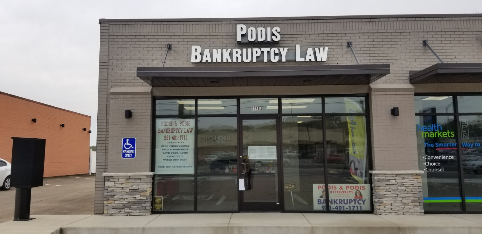 Clarksville Bankruptcy Law Office of Podis and Podis